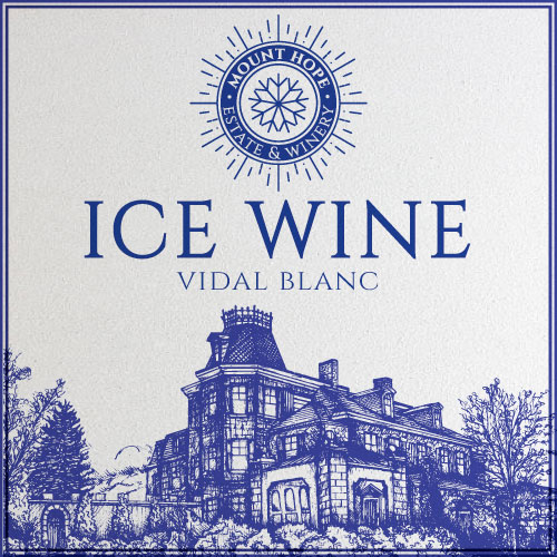 Mount Hope Ice Wine Label